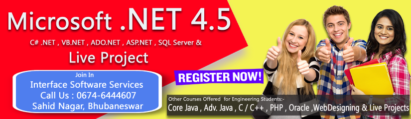DOTNET training in bhubaneswar odisha
